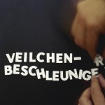 Veilchenbeschleuniger für fabula rasa von René Gisler aka phrasardeur
